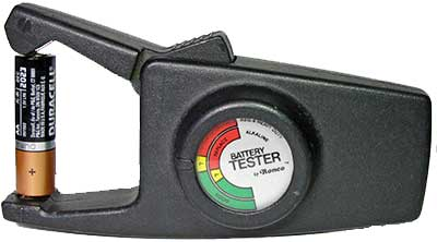 Ronco Battery Tester