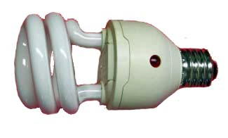 CFL with Built-in Photocell