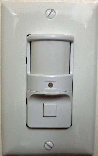 Wall Mounted Occupancy Sensor