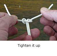 Tie Underwriters Knot Step 5